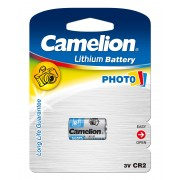 Pile photo lithium CR2 / 3 Volt / Blister de 1 pile CAMELION