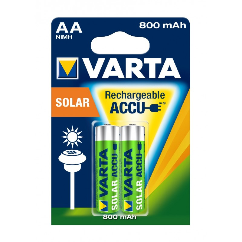 Piles accu nimh rechargeable accu solar mignon aa hr06 - Pile aa rechargeable ...